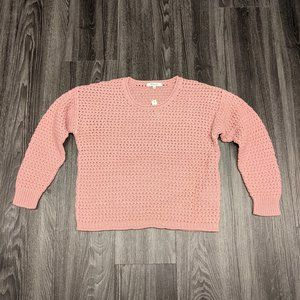 Madewell Open Stitch Sweater